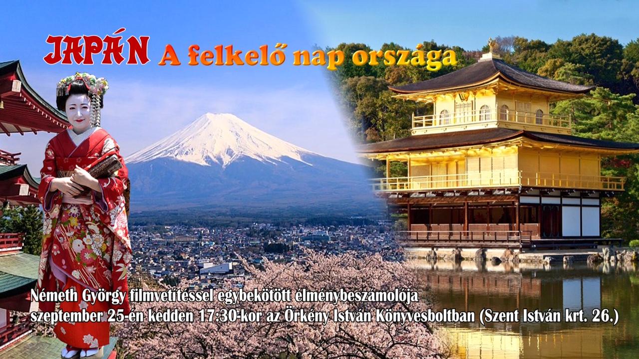 Németh Györggyel Japánban